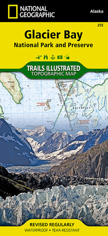 Buy map Glacier Bay National Park, Map 255 by National Geographic Maps