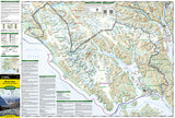 Glacier Bay National Park, Map 255 by National Geographic Maps - Front of map