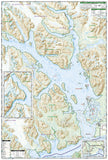 Glacier Bay National Park, Map 255 by National Geographic Maps - Back of map