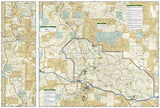 Theodore Roosevelt National Park, Maah Daah Hey Trail, Map 259 by National Geographic Maps - Back of map