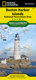 Buy map Boston Harbor Islands National Recreation Area, MS, Map 265 by National Geographic Maps