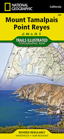 Buy map Mount Tamalpais and Point Reyes, Map 266 by National Geographic Maps