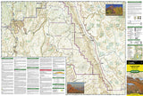 Capitol Reef National Park, Map 267 by National Geographic Maps - Front of map
