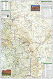 Capitol Reef National Park, Map 267 by National Geographic Maps - Back of map