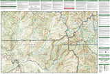 Yellowstone Northeast, Tower and Canyon by National Geographic Maps - Back of map