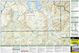 Yellowstone Southeast, Yellowstone Lake by National Geographic Maps - Front of map