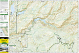 Yosemite Northwest, Hetch Hetchy Reservoir, Map 307 by National Geographic Maps - Front of map
