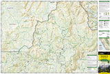 Yosemite Southeast, Ansel Adams Wilderness, Map 309 by National Geographic Maps - Front of map