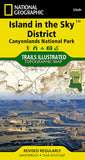 Buy map Canyonlands National Park, Island in the Sky District, Map 310 by National Geographic Maps