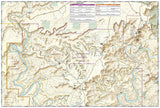 Canyonlands National Park, Island in the Sky District, Map 310 by National Geographic Maps - Back of map