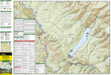 Glacier National Park, North Fork, Map 313 by National Geographic Maps - Front of map