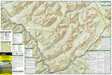 Glacier National Park, Two Medicine by National Geographic Maps - Front of map