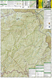 Clingmans Dome and Cataloochee, Great Smoky Mtns Natl Park, Map 317 by National Geographic Maps - Front of map