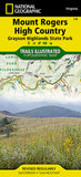 Buy map Mount Rogers High Country, Map 318 by National Geographic Maps