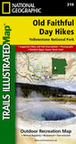 Buy map Old Faithful Day Hikes, Map 319 by National Geographic Maps