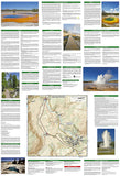 Old Faithful Day Hikes, Map 319 by National Geographic Maps - Back of map