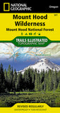 Buy map Mount Hood, Wilderness, Map 321 by National Geographic Maps