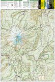 Mount Hood, Wilderness, Map 321 by National Geographic Maps - Front of map
