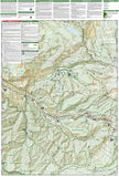 Mount Hood, Wilderness, Map 321 by National Geographic Maps - Back of map