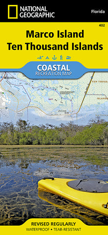 Buy map Ten Thousand Islands, Marco Island, Map 402 by National Geographic Maps