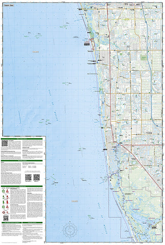 Fort Myers Beach Florida Map.Buy Map Fort Myers Beach Naples Florida Map 407 By National