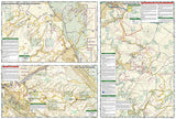 Moab, North, Map 500 by National Geographic Maps - Back of map