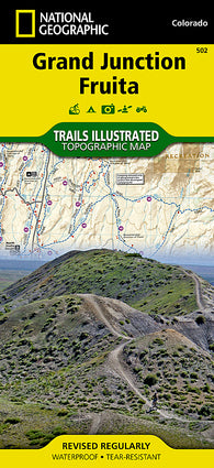 Buy map Grand Junction and Fruita, Map 502 by National Geographic Maps
