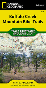 Buy map Buffalo Creek Mountain Bike Trails, Colorado, Map 503 by National Geographic Maps