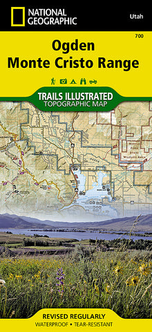 Buy map Ogden Monte Cristo Range by National Geographic Maps