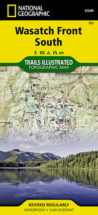 Buy map Uinta National Forest, Timpanogos and Lone Peak, Map 701 by National Geographic Maps