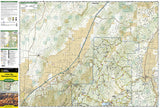 Cedar Mountain and Ashdown Gorge, Utah by National Geographic Maps - Front of map