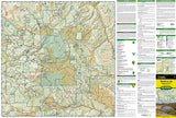 Manti La Sal National Forest by National Geographic Maps - Front of map