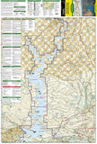 Flaming Gorge NRA and Eastern Uintas, Utah, Map 704 by National Geographic Maps - Front of map