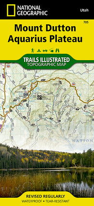 Buy map Bryce and Mount Dutton, Utah by National Geographic Maps