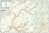 Grand Gulch, Utah by National Geographic Maps - Back of map