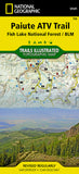Buy map Paiute ATV Trail by National Geographic Maps