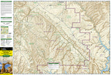 Canyons of the Escalante, Utah by National Geographic Maps - Front of map