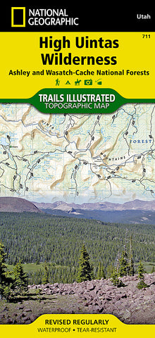 Buy map High Uintas by National Geographic Maps