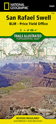 Buy map San Rafael Swell by National Geographic Maps