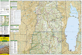 Logan Bear River Range, Map 713 by National Geographic Maps - Front of map