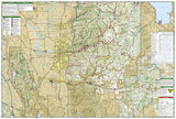 Logan Bear River Range, Map 713 by National Geographic Maps - Back of map