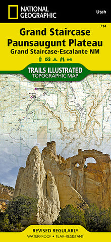 Buy map Grand Staircase, Paunsaugunt Plateau, Map 714 by National Geographic Maps