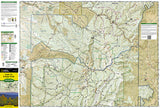 Santa Fe and Truchas Peak, NM, Map 731 by National Geographic Maps - Front of map