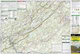 Delaware Water Gap, Map 737 by National Geographic Maps - Front of map
