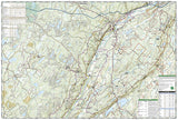 Delaware Water Gap, Map 737 by National Geographic Maps - Back of map