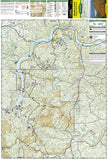 Allegheny National Forest, North, Map 738 by National Geographic Maps - Front of map