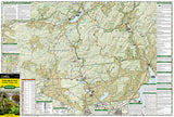 Adirondack Park, Northville and Raquette Lake, Map 744 by National Geographic Maps - Front of map