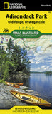 Buy map Adirondack Park, Old Forge and Oswegatchie, Map 745 by National Geographic Maps