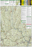 Green Mountains Natl Forest, Moosalamoo NRA-Rutland,  Map 747 by National Geographic Maps - Front of map