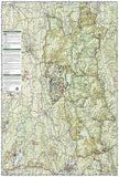 Green Mountains Natl Forest, Moosalamoo NRA-Rutland,  Map 747 by National Geographic Maps - Back of map